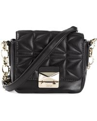 Karl Lagerfeld Quilted Cross Body Bag - Lyst