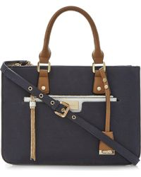 Dune - Duckley Multiple Compartment Bag Navy - Lyst