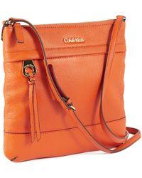 Calvin Klein - Top Zip Crossbody Bag - Lyst
