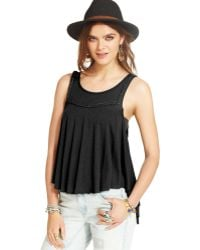 Free People Braided Tank - Lyst