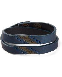 Diesel Blue Ageft Bracelet - Lyst