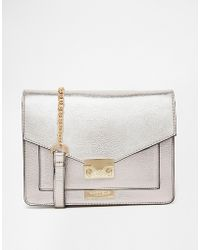 Carvela Kurt Geiger - Metallic Cross Body Bag - Lyst