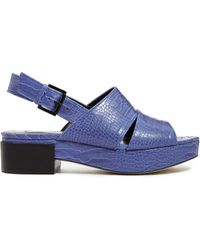 Asos Focus On Me Flat Sandals - Lyst