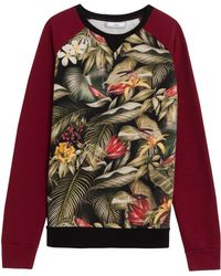 Ami Tropical Sweat W Cont Slv 13 - Lyst