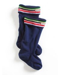 Hunter Fleece Welly Socks - Lyst
