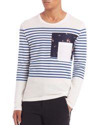 Alexander McQueen   Striped Shirt   Lyst
