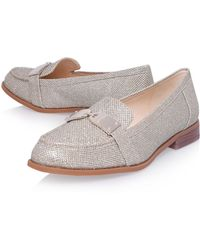 Nine West - Townhall2 Flat Slip On Loafers - Lyst