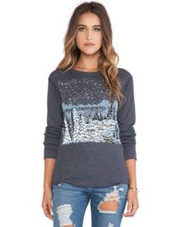 Wildfox Cozy Cabin Long Sleeve - Lyst