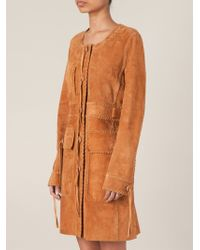 Emilio Pucci Single-Breasted Braided-Detail Coat - Lyst
