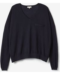 Demy Lee Gina Cashmere Sweater blue - Lyst