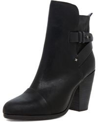 Rag & Bone Kinsey Boot in Black - Lyst