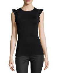 Torn By Ronny Kobo Pala Pique Knit Top - Lyst