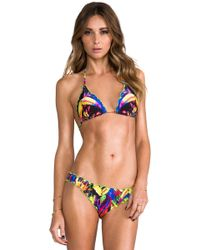 Seafolly Mini Hipster Bottom in Green - Lyst