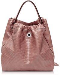 Francesco Biasia - Fresia Genuine Goatskin Leather Backpack - Lyst