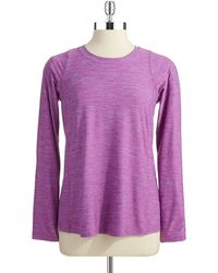 Calvin Klein Performance Patterned Performance Top - Lyst
