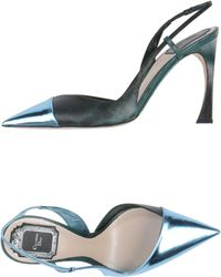 Dior Blue Pump - Lyst