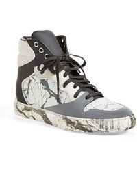 Balenciaga Nappa Leather High Top Sneaker - Lyst