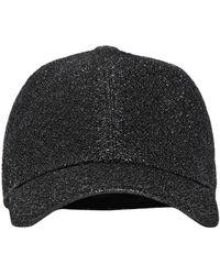 Federica Moretti - Billy Lame Baseball Hat - Lyst