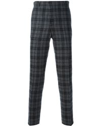 Golden Goose Deluxe Brand Check Pattern Trousers - Lyst
