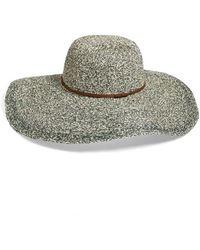 Hinge   'paper Melange' Floppy Hat   Lyst