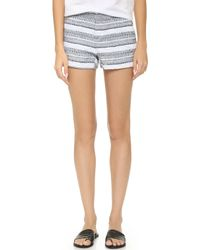 Generation Love - Mason Striped Shorts - Lyst