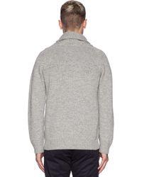 G-star Raw Gammit Shawl Collar Sweater - Lyst