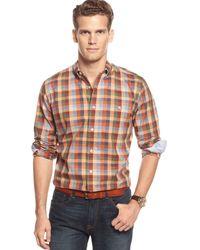Tommy Hilfiger Lacross Gingham Shirt - Lyst