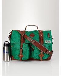 Polo Ralph Lauren Twill Messenger Bag - Lyst