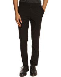Selected Acorn Black Suit Trousers - Lyst