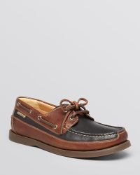 Mephisto - Boating Slip On Loafers - Lyst