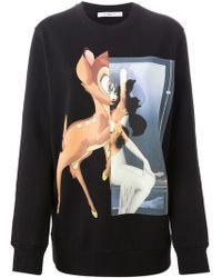 Givenchy Bambi Print Sweatshirt - Lyst