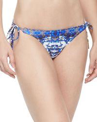 Vix Pyramid Printed Tie-side Swim Bottom - Lyst