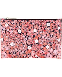 Victoria Beckham - Small Simple Printed Pouch - Lyst