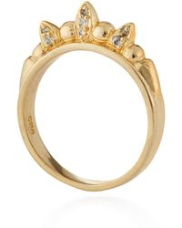 Pamela Love Gold-plated Tribal Spike Ring - Lyst