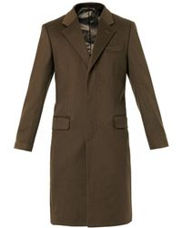 Alexander McQueen Wool And Cashmere-Blend Overcoat - Lyst