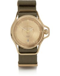 Givenchy - Seventeen Watch In Gold Pvd-Plated Stainless Steel - Lyst