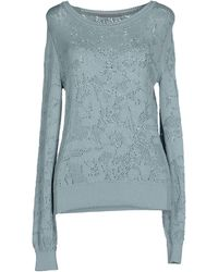 Ermanno Scervino Jumper blue - Lyst
