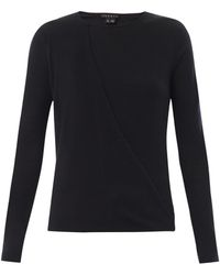 Theory Sempra Wool And Silk-Blend Sweater - Lyst