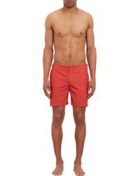 Orlebar Brown Palmprint Bulldog Swim Shorts - Lyst