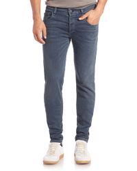 Rag & Bone Woven Skinny-Fit Jeans blue - Lyst