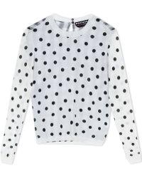 Rochas | Long Sleeve Sweater | Lyst