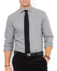 Ralph Lauren Polo Heathered Poplin Estate Shirt - Lyst