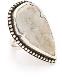 Pamela Love - Arrowhead Ring - Lyst