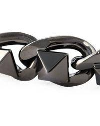 Valentino Chain Bracelet - Lyst