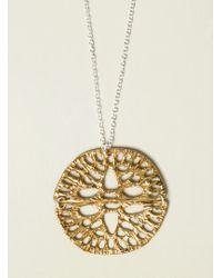 Odette New York - Double Amuletum Pendant - Lyst