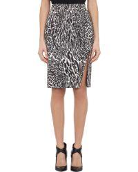 Altuzarra Margaret Pencil Skirt gray - Lyst