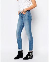 Lee Jeans - Scarlett Stretch Skinny Jean - Blue - Lyst