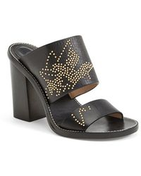 Chloé 'Suzanna' Studded Leather Slide Sandal - Lyst