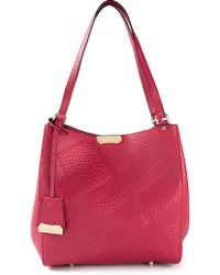 Burberry Canterbury Tote - Lyst