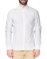Scotch & Soda Long Sleeve Shirt - Lyst